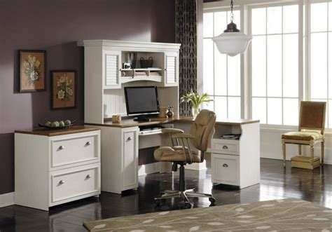 White Home Office Furniture Sets Home Office Furniture White Color Theme Home Constructions