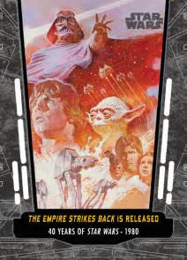 wars anniversary celebrating the 40th anniversary of star wars topps style topps