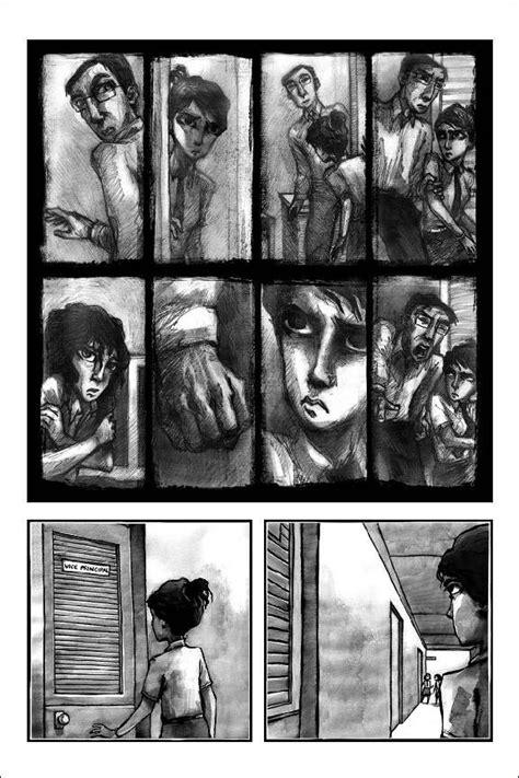 Hush A Novel hush graphic novel on behance