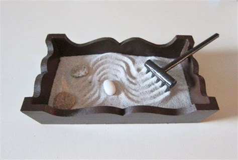 mini zen garden office decor small size desk accessories