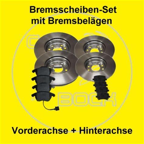 Bremsscheiben Audi A3 by Bremsscheiben Bremsbel 228 Ge Vorn Hinten Audi A3 8p Ebay