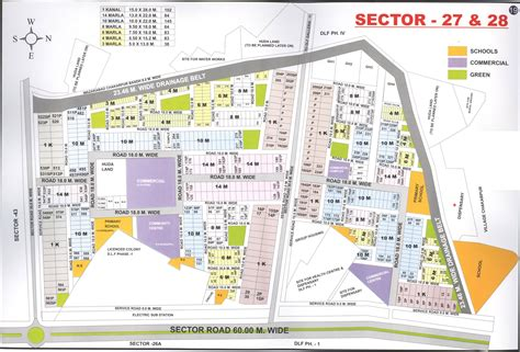 layout plan sector 56 faridabad dreamz realtors real estate consultant in gurgaon