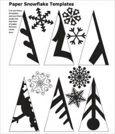 Free Paper Snowflake Templates Snowflake Template 11 Free Pdf Download