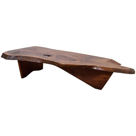george nakashima coffee table george nakashima coffee table for sale at 1stdibs