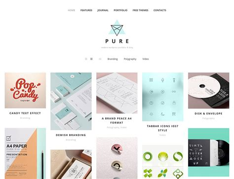 wordpress themes graphic design portfolio free 30 best free portfolio wordpress themes 2018 athemes