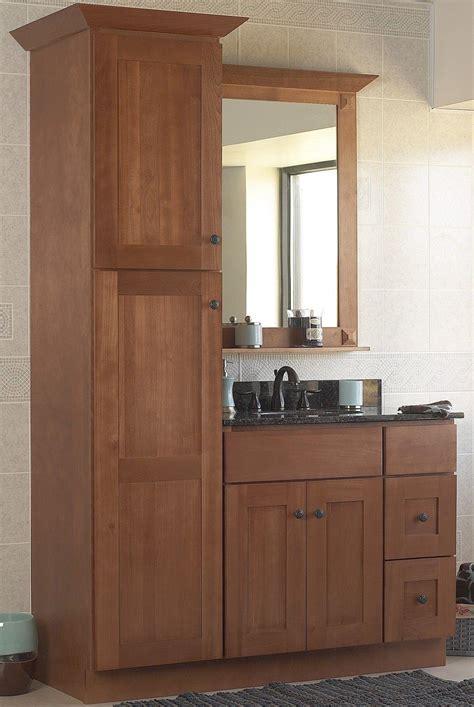 Bathroom Pantry Cabinets by Choosing The Best Linen Cabinet Kellysbleachers Net