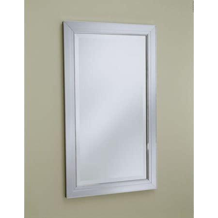 robern metallique robern mp24d4mdbn brushed nickel 23 1 4 quot single door