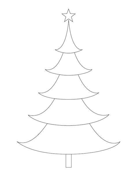 christmas tree outlines gift of curiosity