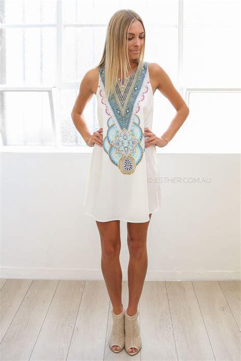 alaina dress ivory esther clothing australia and