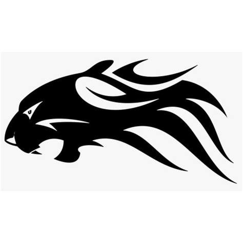 Aufkleber Flammen flammenaufkleber panther