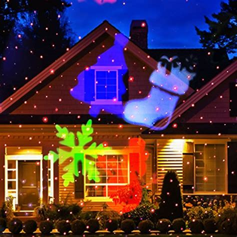 christmas laser light newest version ucharge snowflake