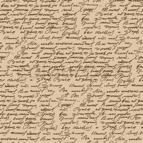 pattern of abstract writing handwritten text vintage style seamless pattern abstract