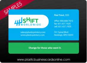 business card pictures plastic business cards sles exles and design ideas