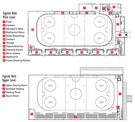 skating rink floor plans chandler architecture prince edward island projects