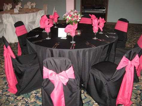 Pink And Black Wedding Ideas by Married 02 26 2010