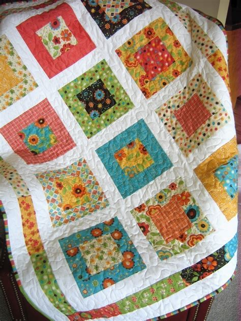 Easy Quilt Designs by Or Baby Quilt Pattern And Easy Layer Cake Or