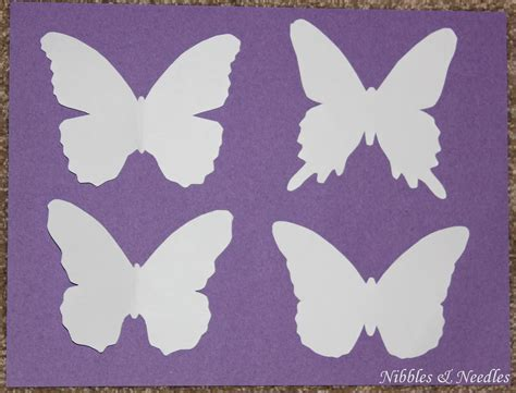 butterfly paper cut out template a card for all occasions 2 in 1 butterfly cut out cards
