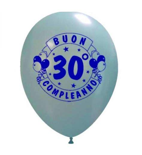 compleanno 30 anni palloncini quot buon compleanno quot 30 anni palloncini milano