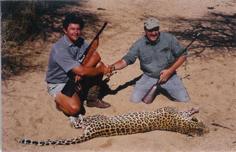 Hunters Appointed To Kill Leopards My Leopard Kill W Botswana