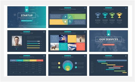 professional powerpoint template 60 beautiful premium