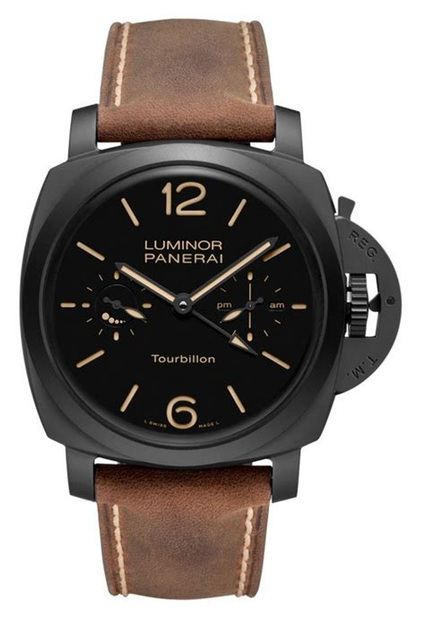 Luminor Panerai Turbilon Angka Black 1 sihh 2012 officine panerai presents twelve new watches review