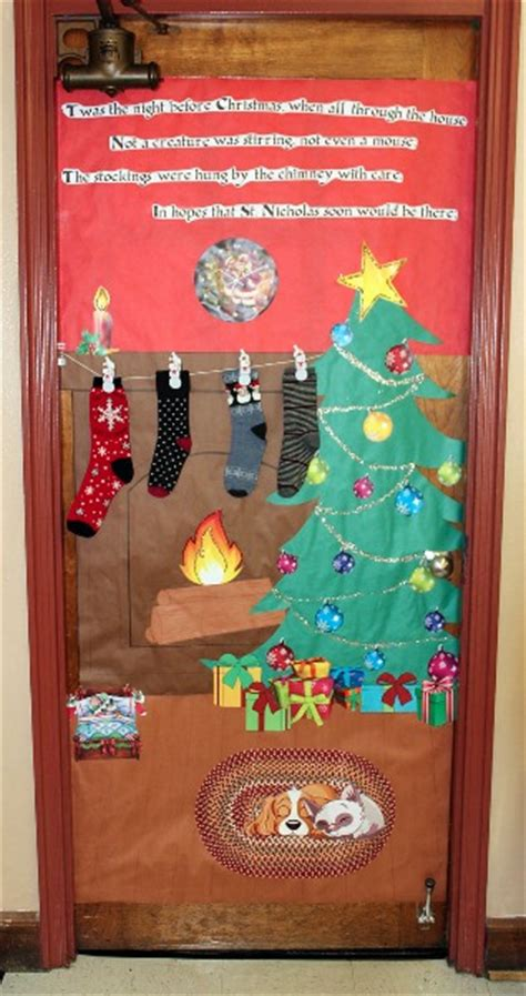 decatur community schools annual door decorating contest