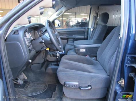 2003 Dodge Ram Interior by Slate Gray Interior 2003 Dodge Ram 2500 Slt Cab