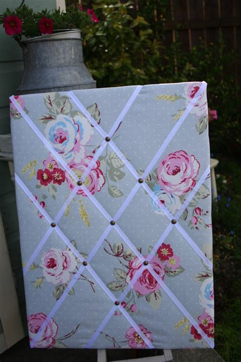 Handmade Notice Board - handmade floral memo notice board by primitive