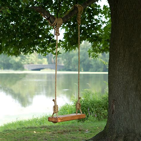 rope knots for tree swing reclaimed floor joist tree swing terrain