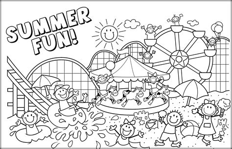best sheets for summer free coloring pages summer activities copy easy to paint