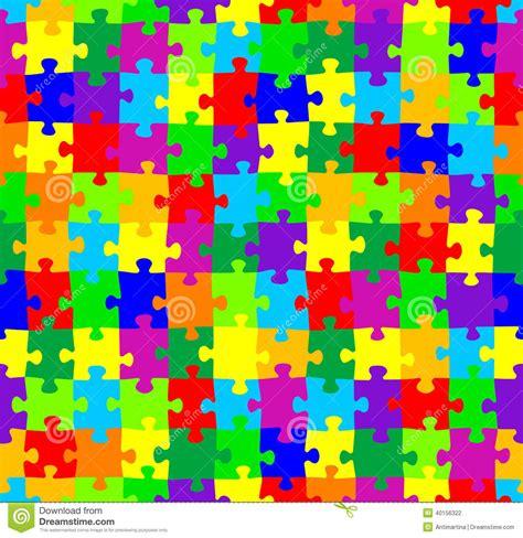 jigsaw pattern svg seamless jigsaw puzzle pattern stock vector image 40156322