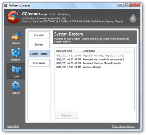 ccleaner recovery ccleaner mac guide