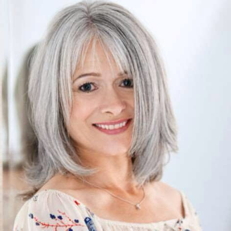 fine graycoming in of short bob hairstyles for 70 yr old 194 best images about hair grey gray on pinterest