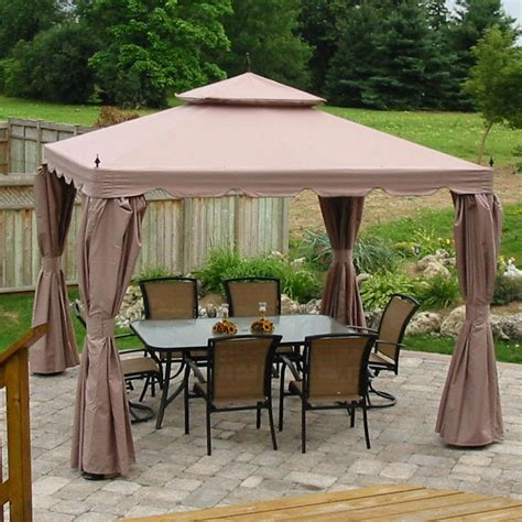 costo gazebo home casual 10 x 10 scalloped gazebo costco item model
