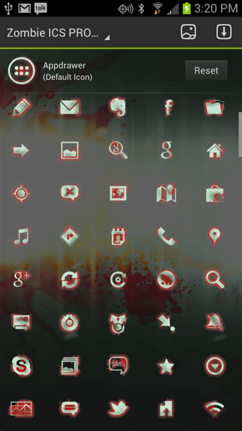 go launcher themes zombie zombie ics theme for go launcher ex brionicthemes