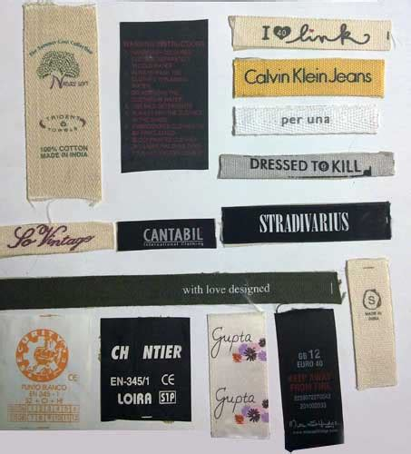 printable fabric labels color printed labels printed fabric labels manufacturers