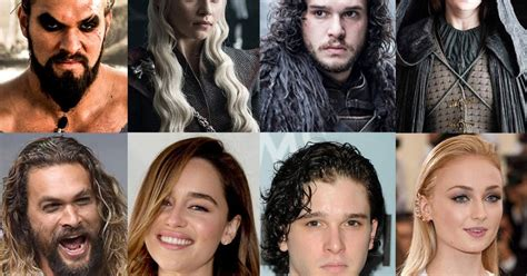 actor game thrones what game of thrones actors look like in real life gallery