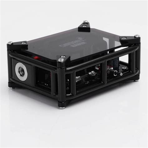 Authentic Smoant Rabox 100w 330mah Mechanical Mod authentic smoant rabox 100w black ss 3300mah mechanical mod