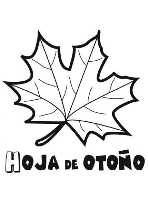 hojas de otono coloring pages oto 241 o dibujos para colorear