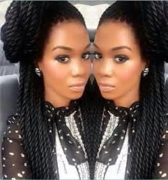 black cuban twist hair 25 hottest braided hairstyles for black women head