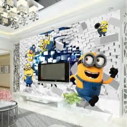 Wall Murals For Boys Room peint en soie gar 231 ons chambre kid room decor art d 233 coration dr 244 le