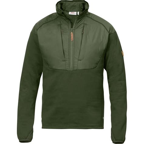 Jaket Zipper 2 From Tribun Padang With fjallraven keb hybrid fleece jacket 1 2 zip s up