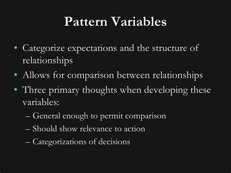 pattern of relationships between variables ppt talcott parsons powerpoint presentation id 1331976