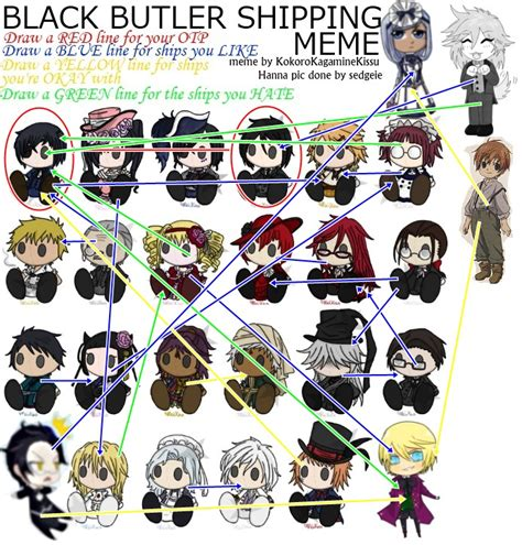 black butler list black butler shipping meme by a modest artist on deviantart
