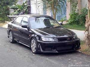 modified honda civic car universe