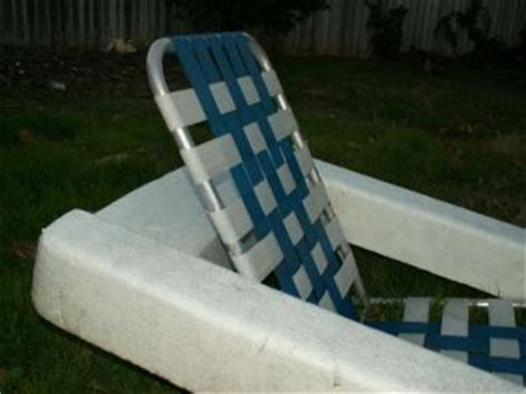 Floating Lawn Chair by Vtg Shaw Walker Aluminum Wood Industrial Design Side Chair