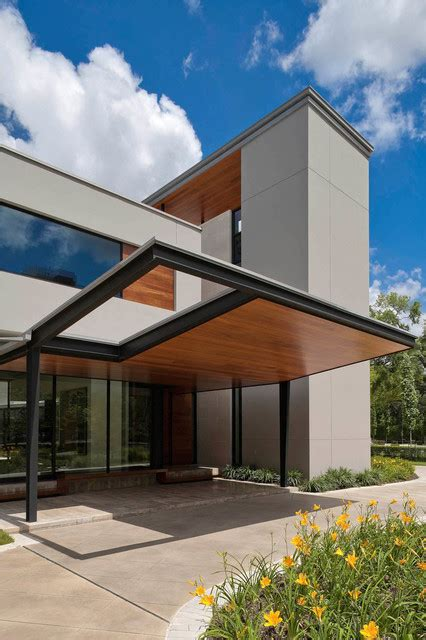 modern home design houston main street house robertson design modern exterior