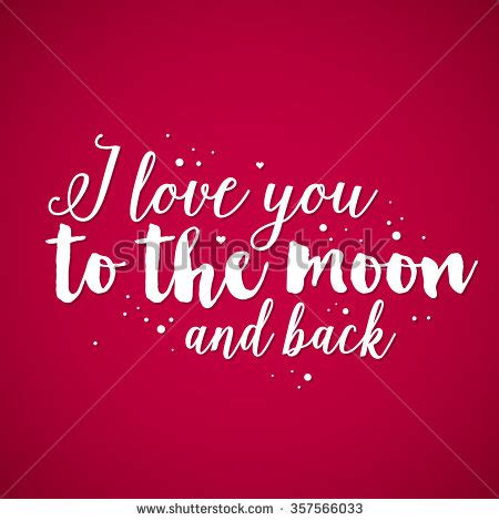 To The Moon And Back Valentines Day Card Template by Stock Images Royalty Free Images Vectors