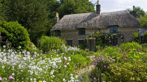 Hardy Cottage by Hardy S Garden National Trust