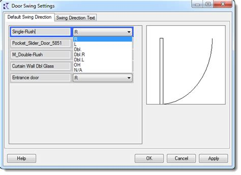 swing text box revit add ons reforma swing direction add in schedule